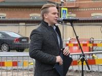 015 Pärnu sisejulgeoleku ühishoonele nurgakivi panek. Foto: Urmas Saard