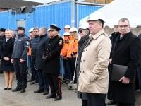 016 Pärnu sisejulgeoleku ühishoonele nurgakivi panek. Foto: Urmas Saard