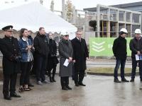 018 Pärnu sisejulgeoleku ühishoonele nurgakivi panek. Foto: Urmas Saard
