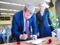 003 Pärnu väärikad alustasid kaheksandat õppeaastat. Foto: Urmas Saard