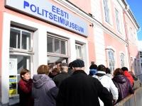 032 Pärnu väärikad politseimuuseumis. Foto: Urmas Saard