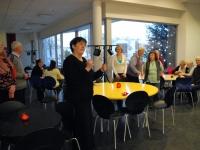 004 Mari Suurväli,  TÜ Pärnu kolledži Väärikate ülikooli vabatahtlike jõulueelne hommikukohv
