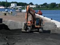 002 Pärnu Vana sadam on Serenissima vastuvõtuks valmis. Foto: Urmas Saard