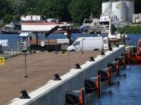 003 Pärnu Vana sadam on Serenissima vastuvõtuks valmis. Foto: Urmas Saard
