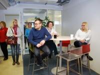 019 Pärnumaa õpetajad maksu- ja tolliametis. Foto: Urmas Saard