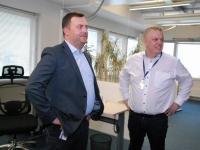 033 Rivo Reitmann ja Marek Helm, Pärnumaa õpetajad maksu- ja tolliametis. Foto: Urmas Saard