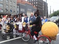 011 Pärnumaalased XII noorte laulupeo rongkäigus. Foto: Urmas Saard