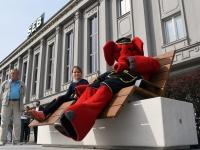 009 Pärnus kuulutati koolirahu välja. Foto: Urmas Saard