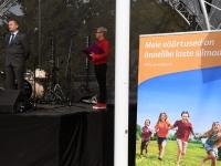 010 Pärnus kuulutati koolirahu välja. Foto: Urmas Saard