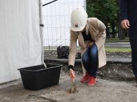 035 Pärnus, Pikk 16 arendus sai nurgakivi. Foto: Urmas Saard