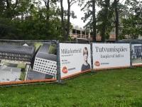 046 Pärnus, Pikk 16 arendus sai nurgakivi. Foto: Urmas Saard