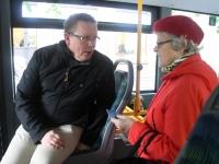 005 Pärnus uued bussid, uus piletisüsteem. Foto: Urmas Saard