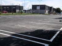 Pärnus valmiva Lidli parkla. Foto: Urmas Saard / Külauudised