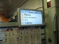 004 Pärnust Tallinna väljunud viimasel reisirongil. Foto: Urmas Saard