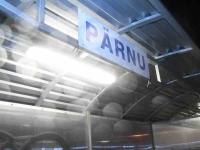 009 Pärnust Tallinna väljunud viimasel reisirongil. Foto: Urmas Saard