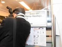 045 Pärnust Tallinna väljunud viimasel reisirongil. Foto: Urmas Saard