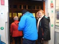 047 Pärnust Tallinna väljunud viimasel reisirongil. Foto: Urmas Saard