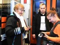 051 Pärnust Tallinna väljunud viimasel reisirongil. Foto: Urmas Saard
