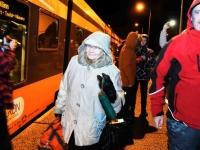 053 Pärnust Tallinna väljunud viimasel reisirongil. Foto: Urmas Saard