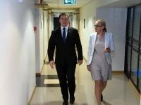004 Peaminister ja majandusminister Pärnus. Foto: Urmas Saard