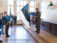 002 Piduliku lipu õnnistamine Reaalkoolis. Foto: Peeter Hütt