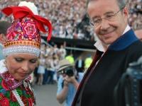 023 Pildigalerii ametist lahkuvast president Toomas Hendrik Ilvesest. Foto: Urmas Saard