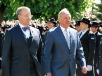 033 Pildigalerii ametist lahkuvast president Toomas Hendrik Ilvesest. Foto: Urmas Saard
