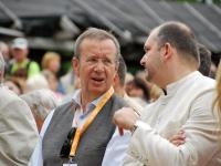 055 Pildigalerii ametist lahkuvast president Toomas Hendrik Ilvesest. Foto: Urmas Saard