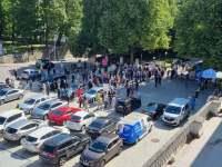 Presidendi otsevalimist toetav meeleavaldus. Foto: Marko Šorin
