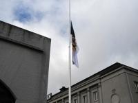 014 President Kersti Kaljulaid Iseseisvuse väljakul. Foto: Urmas Saard / Külauudised