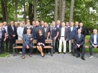 008 President Kersti Kaljulaid Pärnu Rannapargis. Foto: Urmas Saard / Külauudised