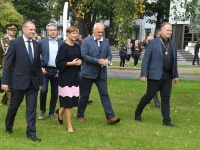 011 President Kersti Kaljulaid Pärnu Rannapargis. Foto: Urmas Saard / Külauudised