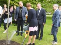 015 President Kersti Kaljulaid Pärnu Rannapargis. Foto: Urmas Saard / Külauudised