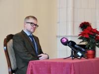 005 Pressikonverents K. Pätsi monumendi toetuseks. Foto: Urmas Saard