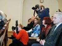 008 Pressikonverents K. Pätsi monumendi toetuseks. Foto: Urmas Saard