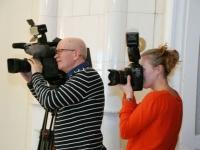 015 Pressikonverents K. Pätsi monumendi toetuseks. Foto: Urmas Saard