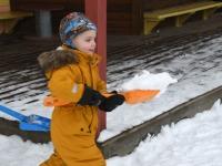 Rahvusvaheline lumememme päev Sindi lasteaias. Foto: Urmas Saard / Külauudised