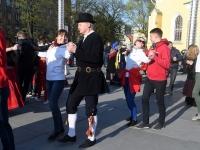 016 Rahvusvaheline tantsupäev Tallinnas. Foto: Urmas Saard