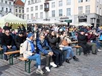 016 Rahvusvähemused Raekoja platsil. Foto: Urmas Saard