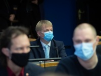 001 Rain Epler, uus keskkonnaminister, Riigikogus. Foto: Erik Peinar / Riigikogu kantselei