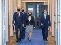 003 Rain Epler, uus keskkonnaminister, Riigikogus. Foto: Erik Peinar / Riigikogu kantselei