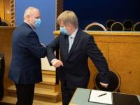 005 Rain Epler, uus keskkonnaminister, Riigikogus. Foto: Erik Peinar / Riigikogu kantselei