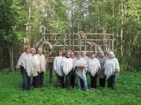 Rakke naiskoori lauljad Emumäel. Foto: Rene Põllumaa