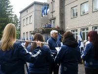 Rein Vendla dirigendina erinevates esinemispaikades. Foto: Urmas Saard / Külauudised