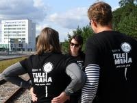 001 Relsiralli 2019 lõpetamine Pärnu Papiniidu jaamas. Foto: Urmas Saard