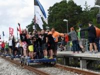 005 Relsiralli 2019 lõpetamine Pärnu Papiniidu jaamas. Foto: Urmas Saard