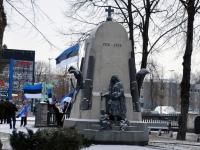 001 Relvarahu aastapäeval Pärnus Alevi kalmistul Foto Urmas Saard