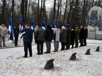 003 Relvarahu aastapäeval Pärnus Alevi kalmistul Foto Urmas Saard