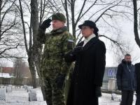 009 Relvarahu aastapäeval Pärnus Alevi kalmistul Foto Urmas Saard