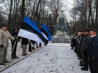 014 Relvarahu aastapäeval Pärnus Alevi kalmistul Foto Urmas Saard
